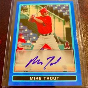 Mike Trout Autographed Rookie RP Card